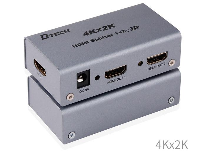BỘ CHIA HDMI 1×2 4K DTECH DT-7142