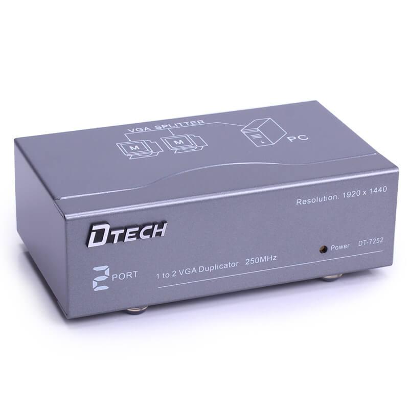 Bộ chia Vga 1-2 Dtech DT-7252