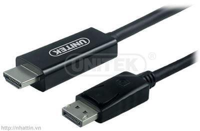 Cáp chuyển Display Port to HDMI Unitek Y5118CA