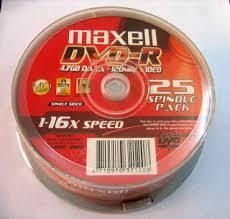 Đĩa DVD Maxcell