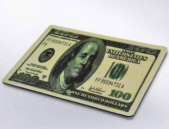Lót chuột hình tiền Dola