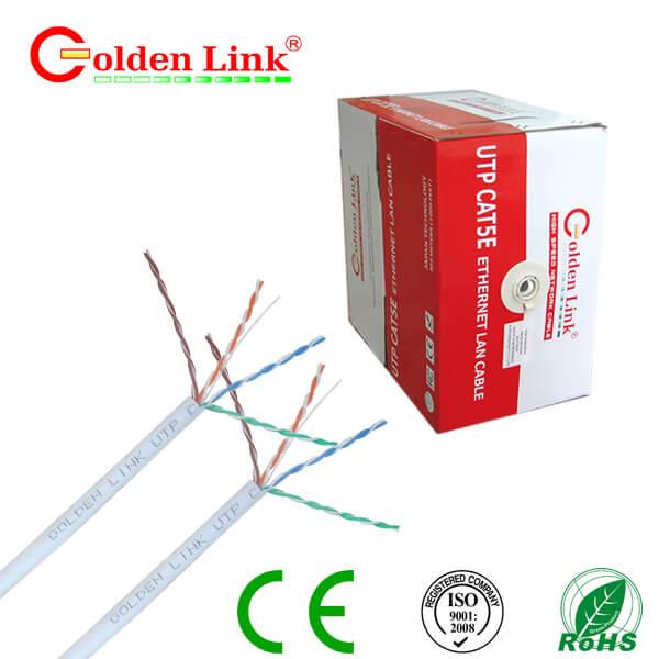 Cáp mạng cat5 Goldenlink (305m/thùng)