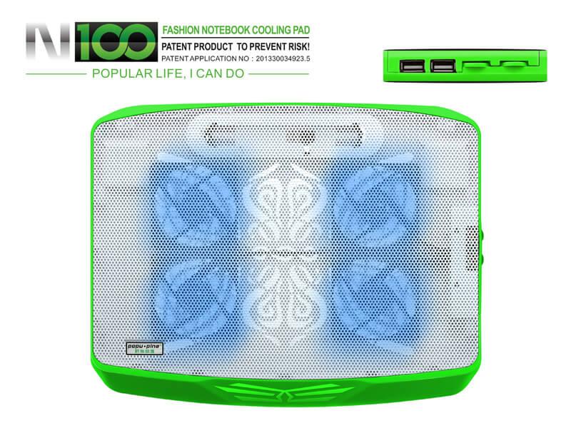 Đế tản nhiệt Cool Cold N100 Pro 4 fan
