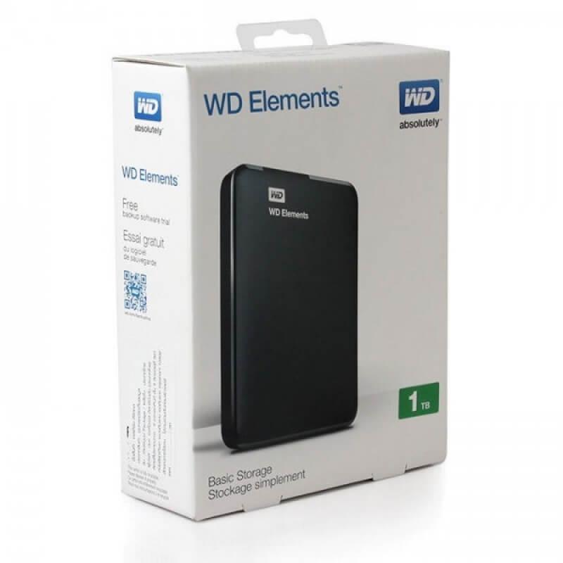 Ổ cứng cắm ngoài Western Digital Element – 1TB