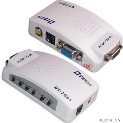 Bộ Chuyển Đổi VGA Sang AV Dtech DT-7001