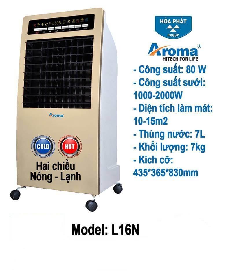Máy làm mát Aroma Luxury L16N