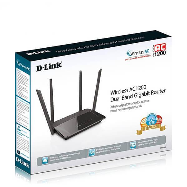 Bộ Phát Wifi DLink ( DIR- 842 ) AC 1200