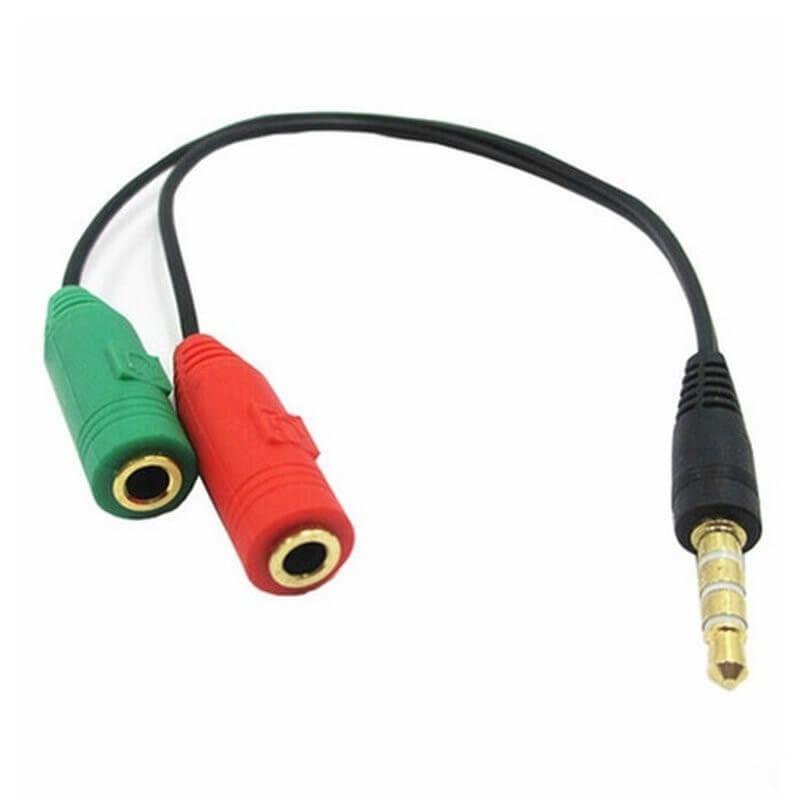 Jack chia Audio và Mic