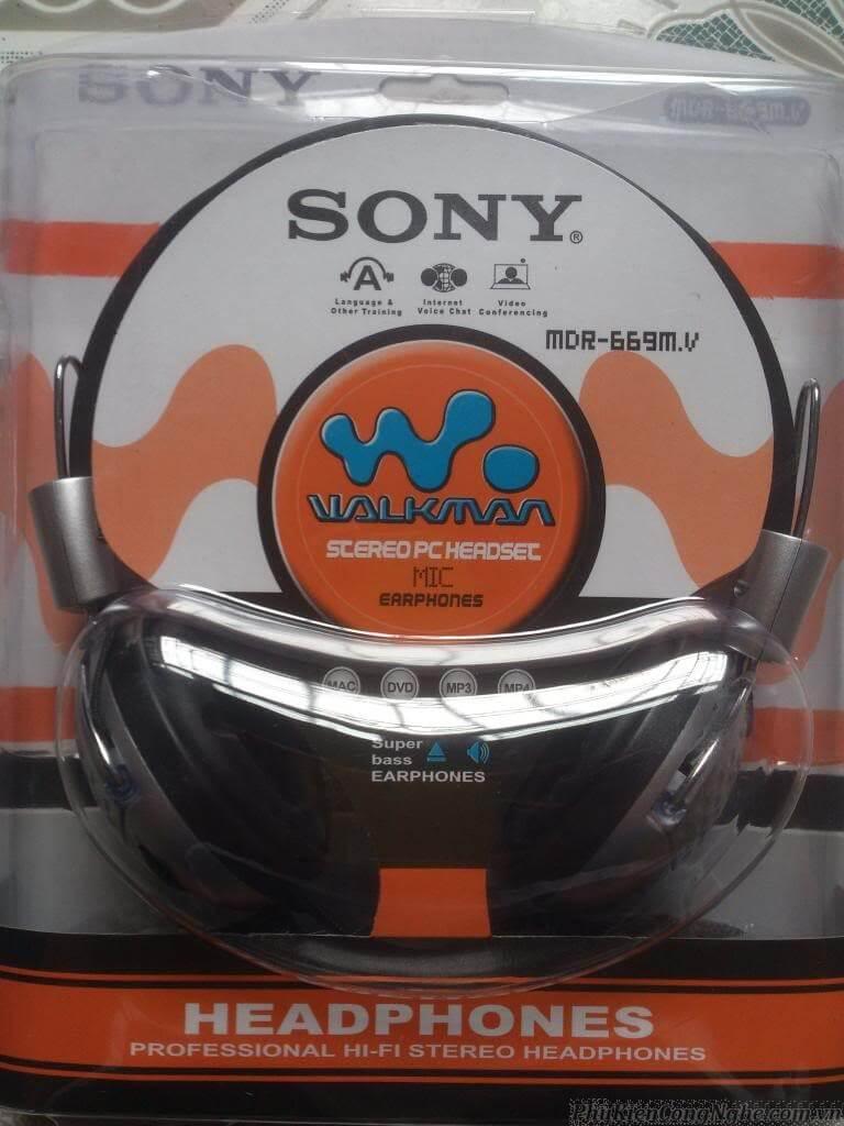 Tai nghe Sony 669