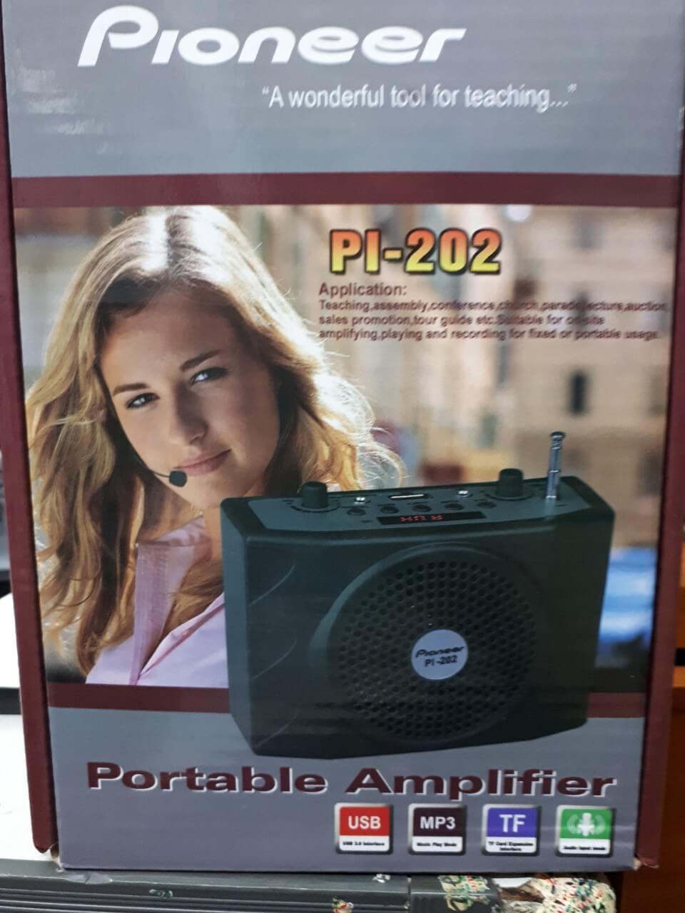 Loa trợ giảng bluetooth PI-202