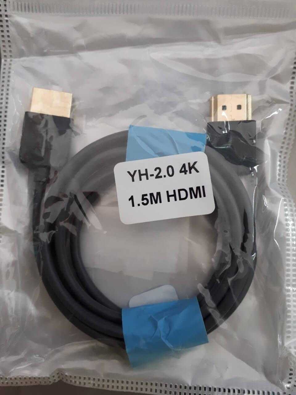 Hdmi 1.5m 2.0  yh-2.0 4k