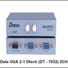 DATA VGA 2-1 DTECH (DT-7032)