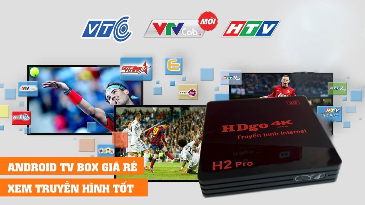 Tivi box HDgo H2 Pro