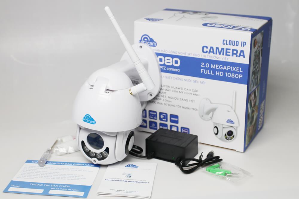 Vitacam DZ1080 – Camera ngoài trời cao cấp 2.0mpx FHD 1080P