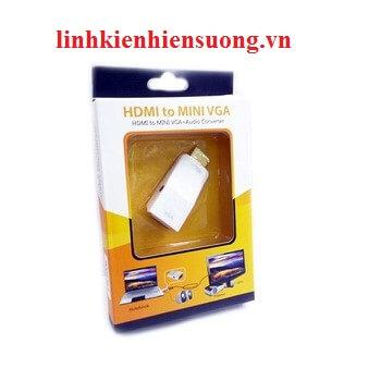 Đầu chuyển Hdmi-Vga +Audio 5125