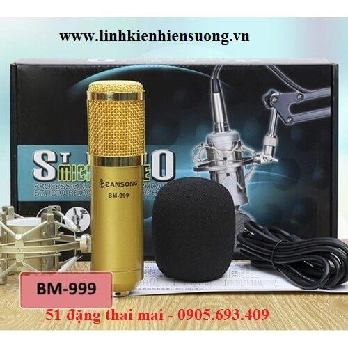 Micro thu âm zansong BM 999
