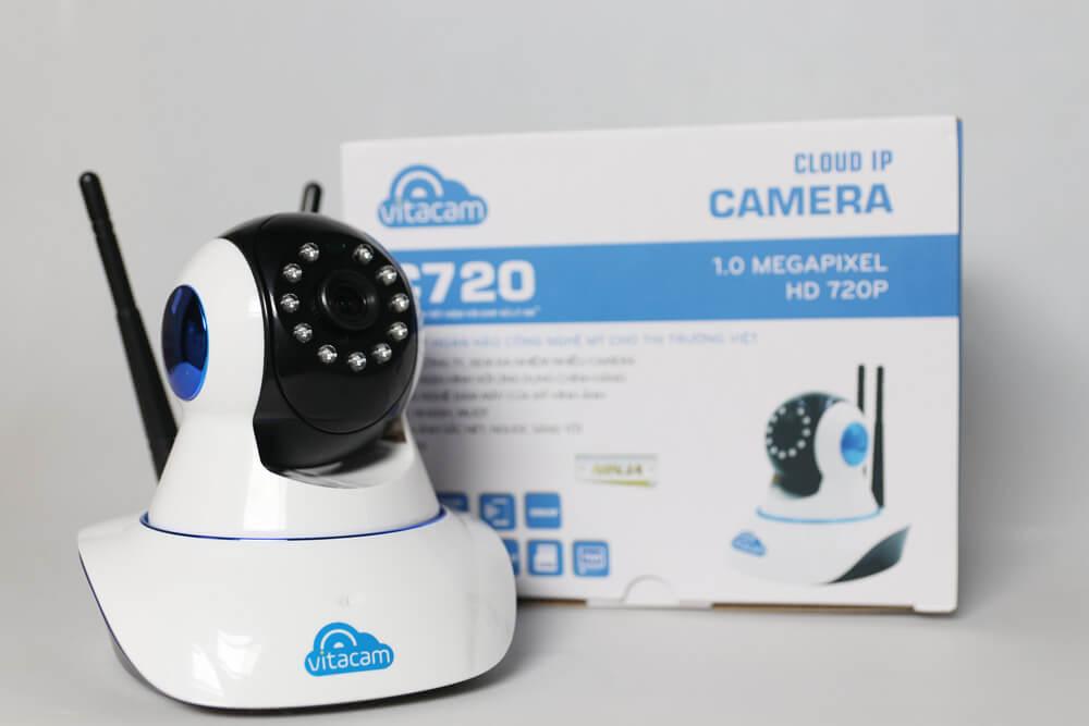 VITACAM C720 – HD 720P – Camera Wifi Đa Chức Năng