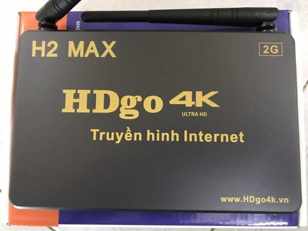 TV BOX HDGO H2 MAX