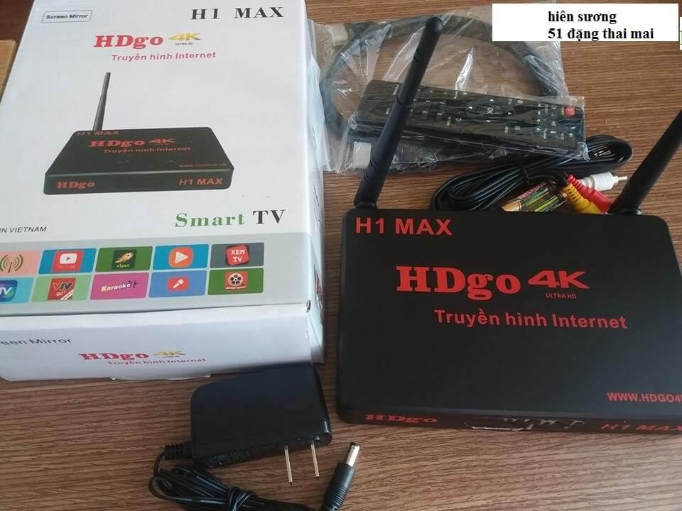 TV BOX HDGO H1 MAX