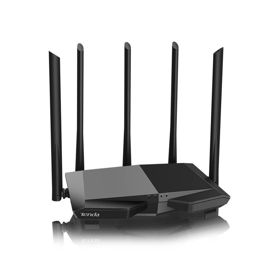 Thiết bị phát Wifi chuẩn AC 1200Mbps Tenda AC7 (Đen)