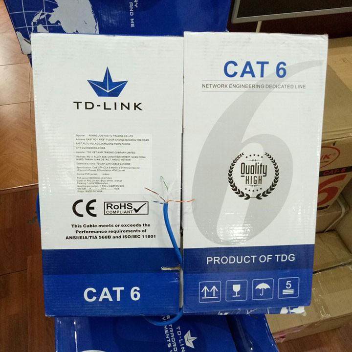 Dây cáp mạng TD-LINK LAN CABLE CAT6 UTP 305M