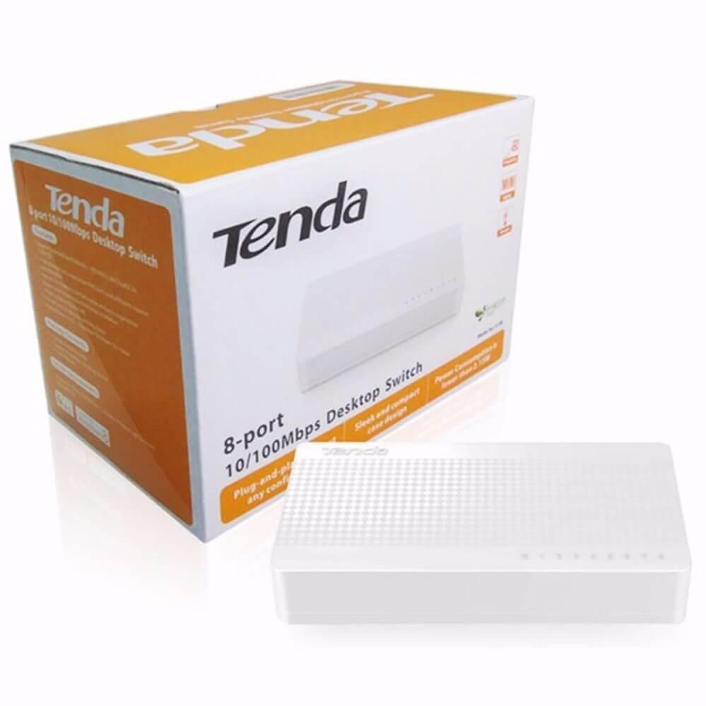 Bộ Hub Chia Mạng Switch Tenda 8 port 100M