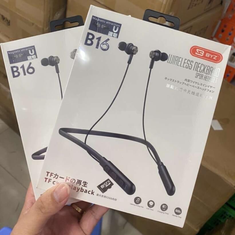 Tai nghe bluetooth BYZ B16