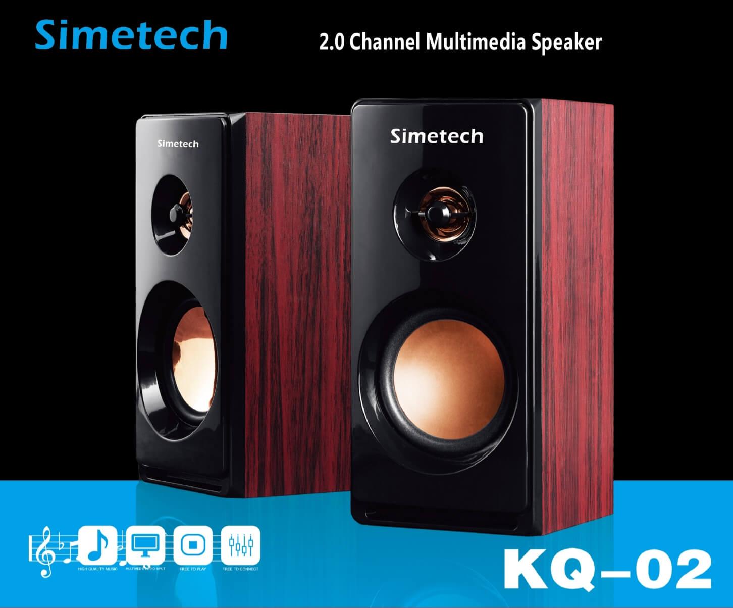 Loa vi tính Simetech KQ-02