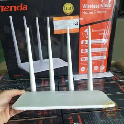 Router WIFI TENDA F6 tốc độ 300Mbps
