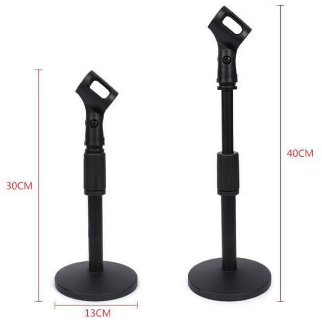 Chân đế micro để bàn Microphone Stand